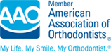 american association of orthodontists logo