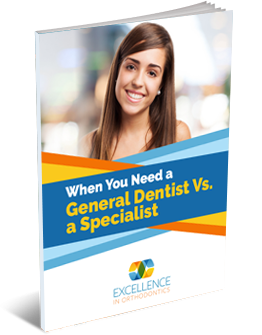 when you need a general dentist vs specialist