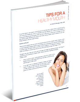tips for a healthy mouth